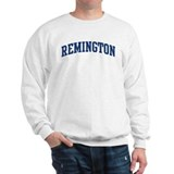 REMINGTON design (blue) Sweatshirt
