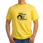 Bill is homesick, vote for Hillary Yellow T-Shirt