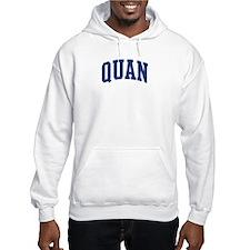 QUAN design (blue) Hoodie