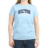 RECTOR design (blue) T-Shirt