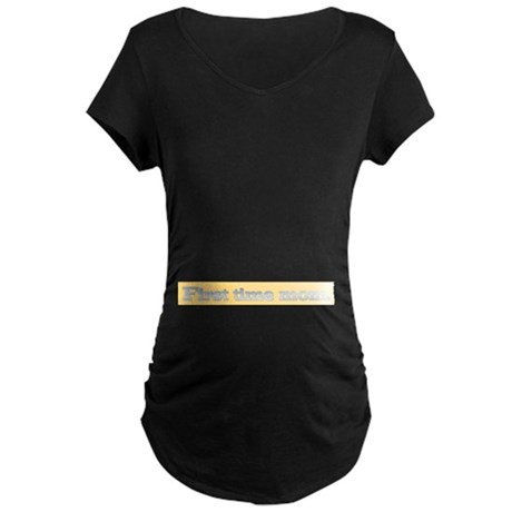 First time mom Maternity Dark T-Shirt