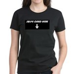 Swipe Card Here Women's Dark T-Shirt