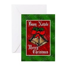 Buon Natale Italian Christmas Cards Greeting Cards