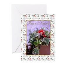 Buon Natale Italian Christmas Cards (Pk of 10)