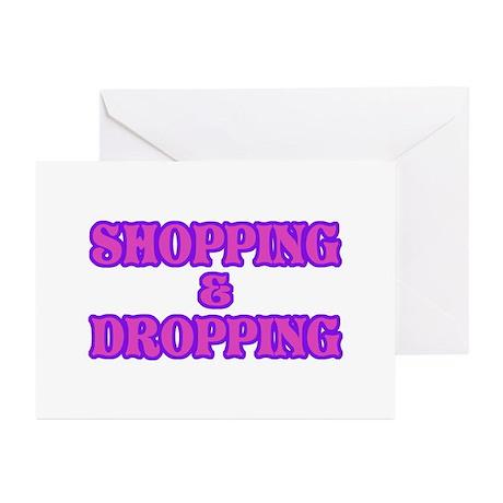 Shop till You Drop Greeting Cards (Pk of 10)