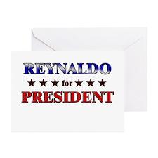 REYNALDO for president Greeting Cards (Pk of 20)