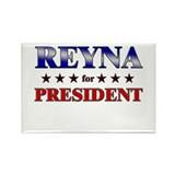 REYNA for president Rectangle Magnet (10 pack)