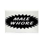 Male Whore Rectangle Magnet (100 pack)