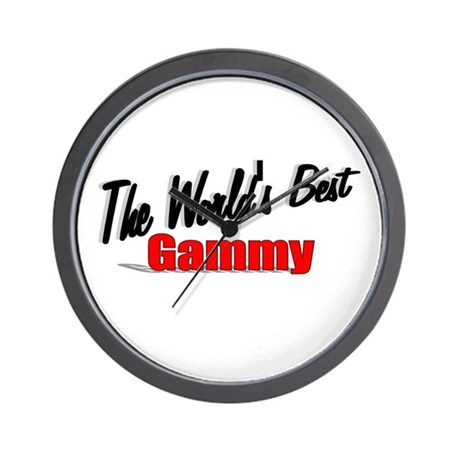 """The World's Best Gammy"" Wall Clock"