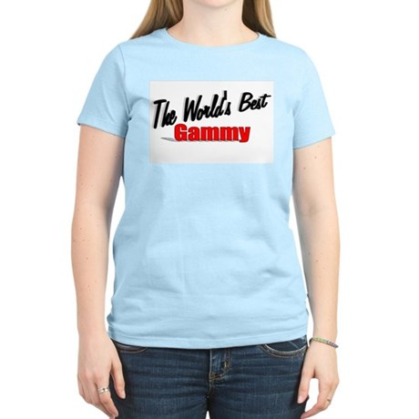 """The World's Best Gammy"" Women's Light T-Shirt"