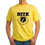 Beer - Helping White People D Yellow T-Shirt