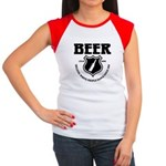 Beer - Helping White People D Women's Cap Sleeve T