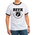 Beer - Helping White People D Ringer T