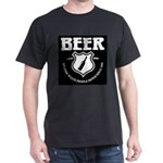 Beer - Helping White People D Dark T-Shirt