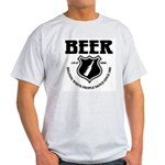 Beer - Helping White People D Light T-Shirt