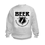 Beer - Helping White People D Kids Sweatshirt