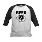 Beer - Helping White People D Kids Baseball Jersey