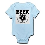 Beer - Helping White People D Infant Bodysuit