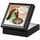 Basset Hound Turkey Keepsake Box