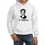 I heart Hillary Hooded Sweatshirt
