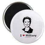 I heart Hillary Magnet