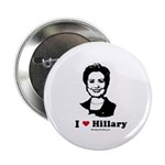 I heart Hillary Button