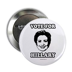 """Vote for Hillary 2.25"""" Button (10 pack)"""