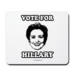 Vote for Hillary Mousepad