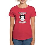 Vote for Hillary Women's Dark T-Shirt