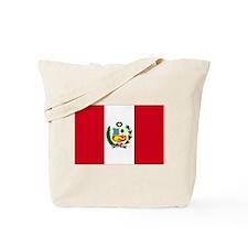 Peruvian Flag Tote Bag
