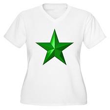 Verda Stelo (Green Star) T-Shirt