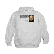 Thomas Jefferson Quote 1 Hoodie