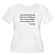 Thomas Jefferson Text 1 T-Shirt