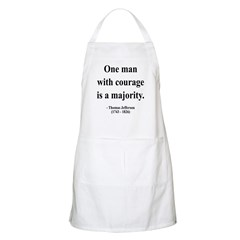 Thomas Jefferson 5 BBQ Apron