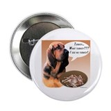 "Bloodhound Turkey 2.25"" Button"