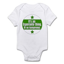 Esperanto Thing Infant Bodysuit