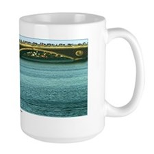 """""""A Rower at the Head of the Charles"""" Mug"""