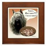Bouvier Turkey Framed Tile
