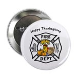 "Thanksgiving Firefighter 2.25"" Button"