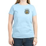 Thanksgiving Firefighter Women's Light T-Shirt