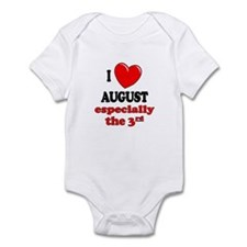 August 3rd Infant Bodysuit