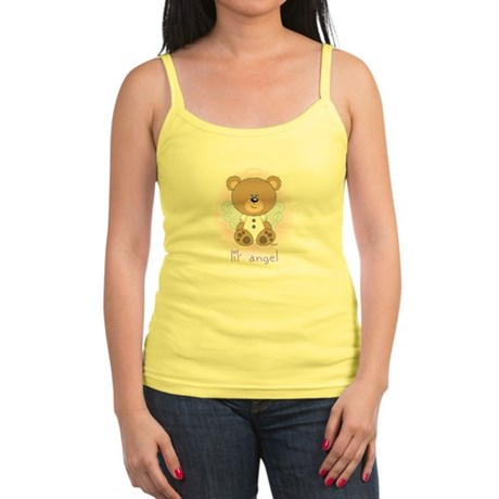 lil' brown bear angel Jr. Spaghetti Tank