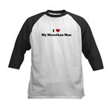 I Love My Marathon Man Tee