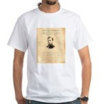 Wanted Robert Allison White T-Shirt