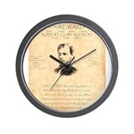 Wanted Robert Allison Wall Clock