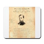 Wanted Robert Allison Mousepad