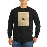 Wanted Robert Allison Long Sleeve Dark T-Shirt