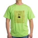 Wanted Robert Allison Green T-Shirt