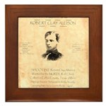 Wanted Robert Allison Framed Tile