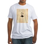 Wanted Robert Allison Fitted T-Shirt